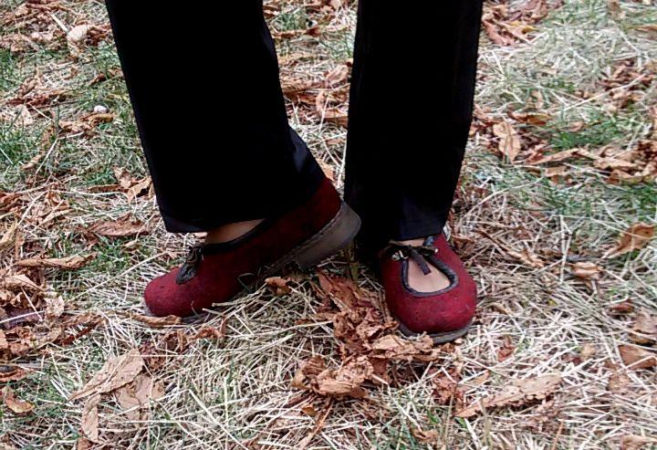 валяная обувь, войлок ручной работы