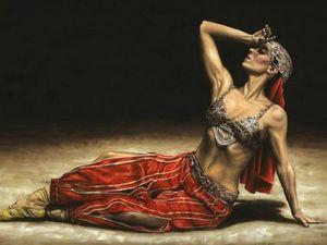 Восточный танец глазами художников. Ярмарка Мастеров - ручная работа, handmade.