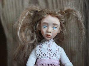 Фотоотчет: Будуарная кукла с Натальей Ворожко.. Ярмарка Мастеров - ручная работа, handmade.