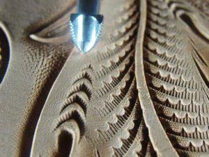 Тиснение, штамп, гравировка или объемный рисунок (давленка) на изделиях из кожи. | Ярмарка Мастеров - ручная работа, handmade