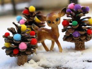 Мастерим новогодние поделки вместе с детьми. Ярмарка Мастеров - ручная работа, handmade.