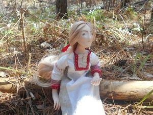 Снегурка в весеннем лесу. Ярмарка Мастеров - ручная работа, handmade.