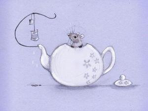 Забавные и трогательные мышки в иллюстрациях Nadya Bonten-Slenders. Ярмарка Мастеров - ручная работа, handmade.