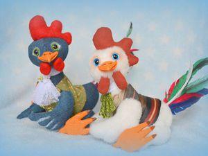 Шьем Петушка — символ наступающего Нового 2017 года. Ярмарка Мастеров - ручная работа, handmade.