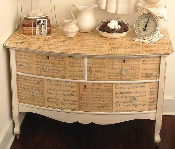 Как задекорировать мебель из дсп
