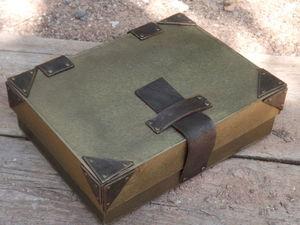 Полгода жизни цвета горького шоколада ! Не просто Блокнот , а Блокнот в коробке . | Ярмарка Мастеров - ручная работа, handmade