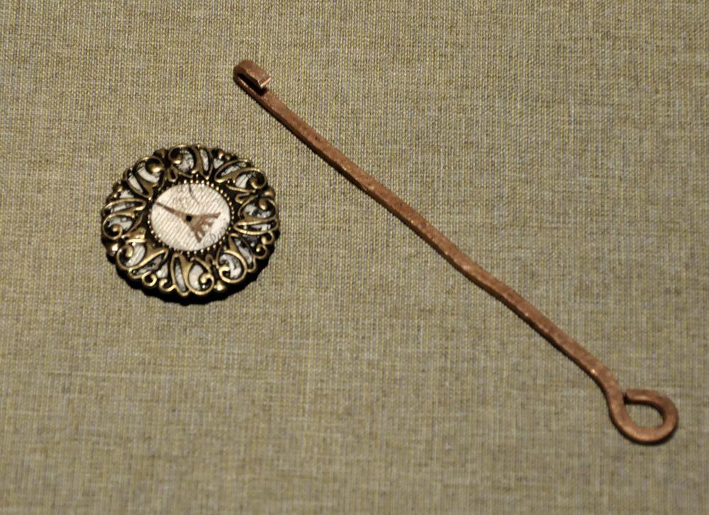 Создаем сказочные декоративные часы для большой елки, фото № 21