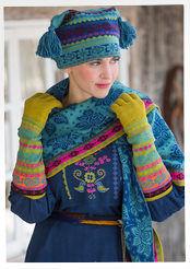"""Muhu"" gloves in cotton & wool"