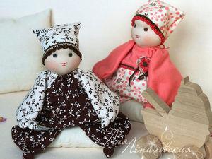Создаем куколку «Рисальдик» для самых маленьких. Часть 2. Ярмарка Мастеров - ручная работа, handmade.