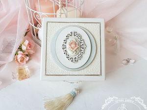 """НОВИНКА . Шкатулка для украшений """"Rosalia"""". Ярмарка Мастеров - ручная работа, handmade."""
