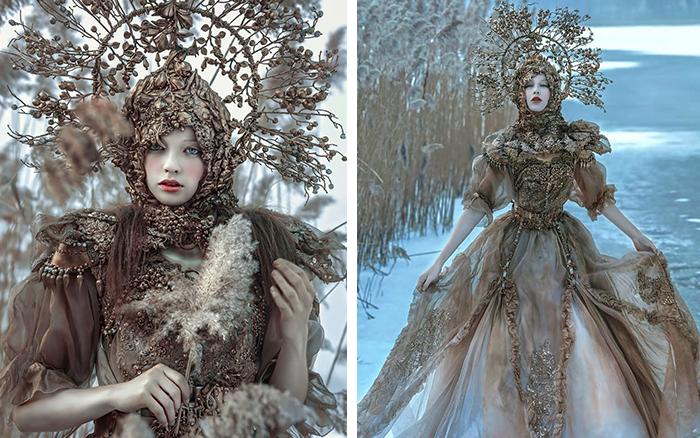 Тайны сказочного леса: невероятные костюмы от Agnieszka Osipa