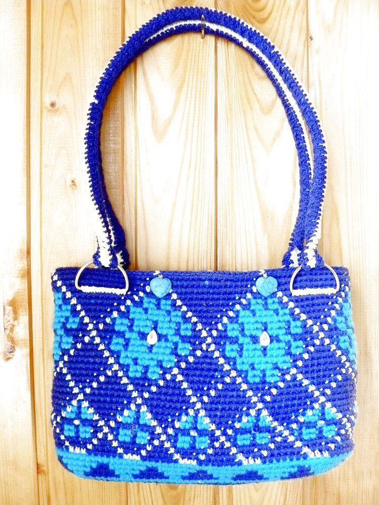вязанная сумочка крючком, сумочка, сумка женская, сумка ручной работы, сумки ручной работы