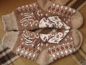 Блаженство для ног: теплые носочки от Людмилы   Ярмарка Мастеров - ручная работа, handmade