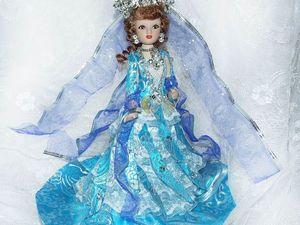 Морская царевна Волхова — новая кукла. Ярмарка Мастеров - ручная работа, handmade.