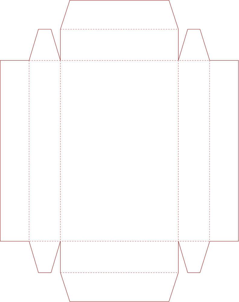 шаблоны для коробочек, крафтбумага