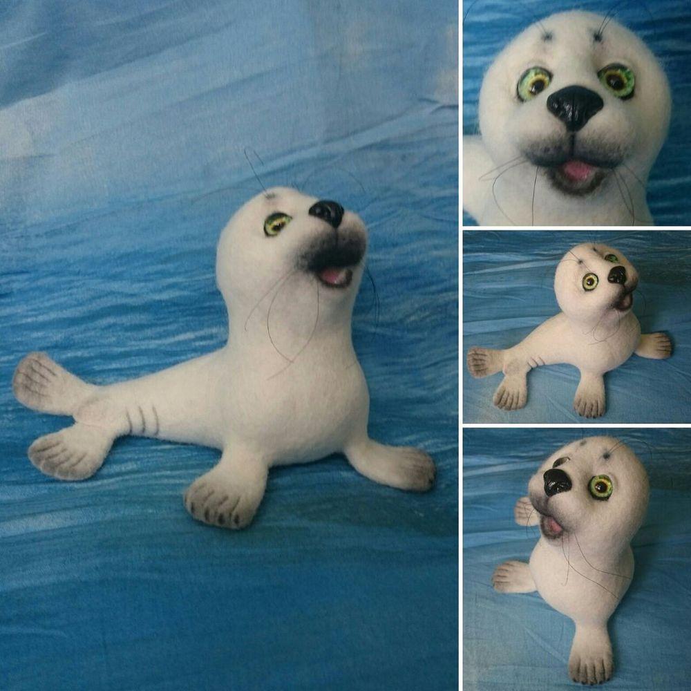 мастер-класс, валяный тюлень