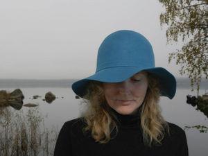 Валяные шляпы и шапочки (На выбор: кардочес, меринос, нунофелтинг) | Ярмарка Мастеров - ручная работа, handmade