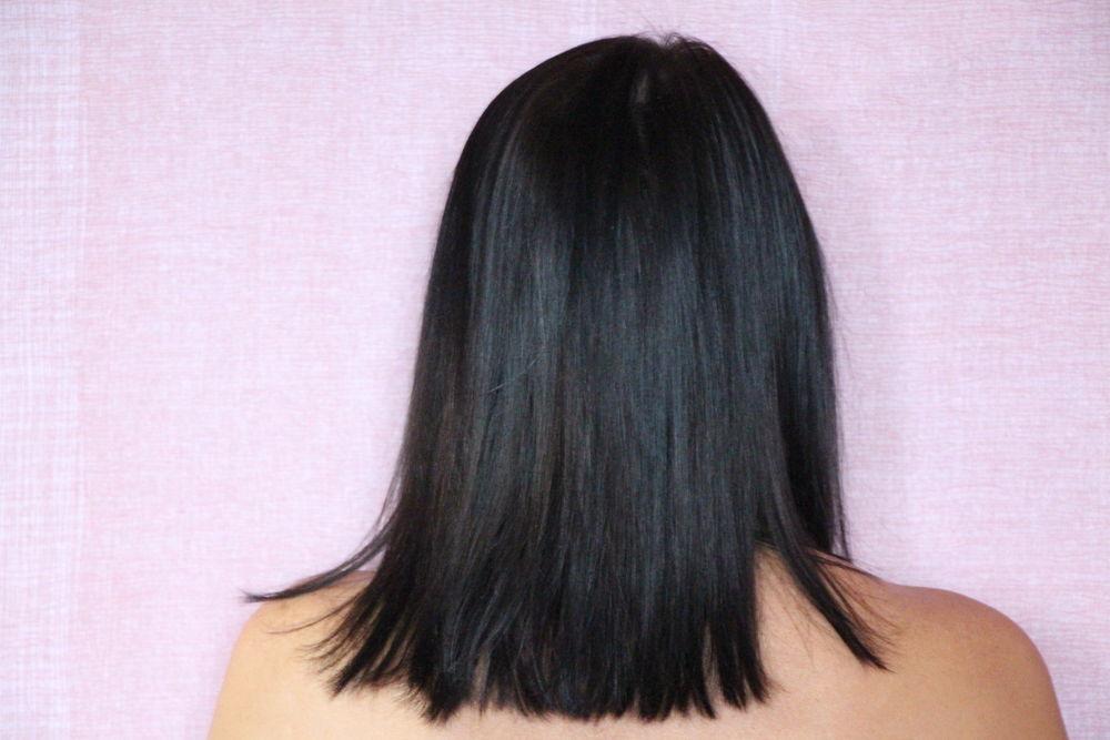 волосы, мята