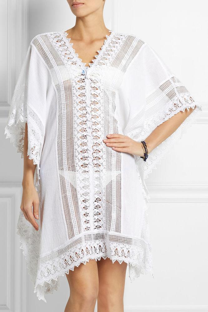 Белое бохо, или Шикарная одежда для королевы летнего пляжа, фото № 129