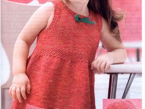 Милые вязаные сарафанчики для девочек: 27 прелестных нарядов. Ярмарка Мастеров - ручная работа, handmade.