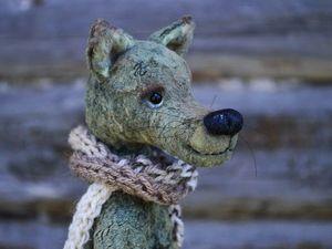 Одинокий Волк ищет свою Прекрасную Даму. Ярмарка Мастеров - ручная работа, handmade.