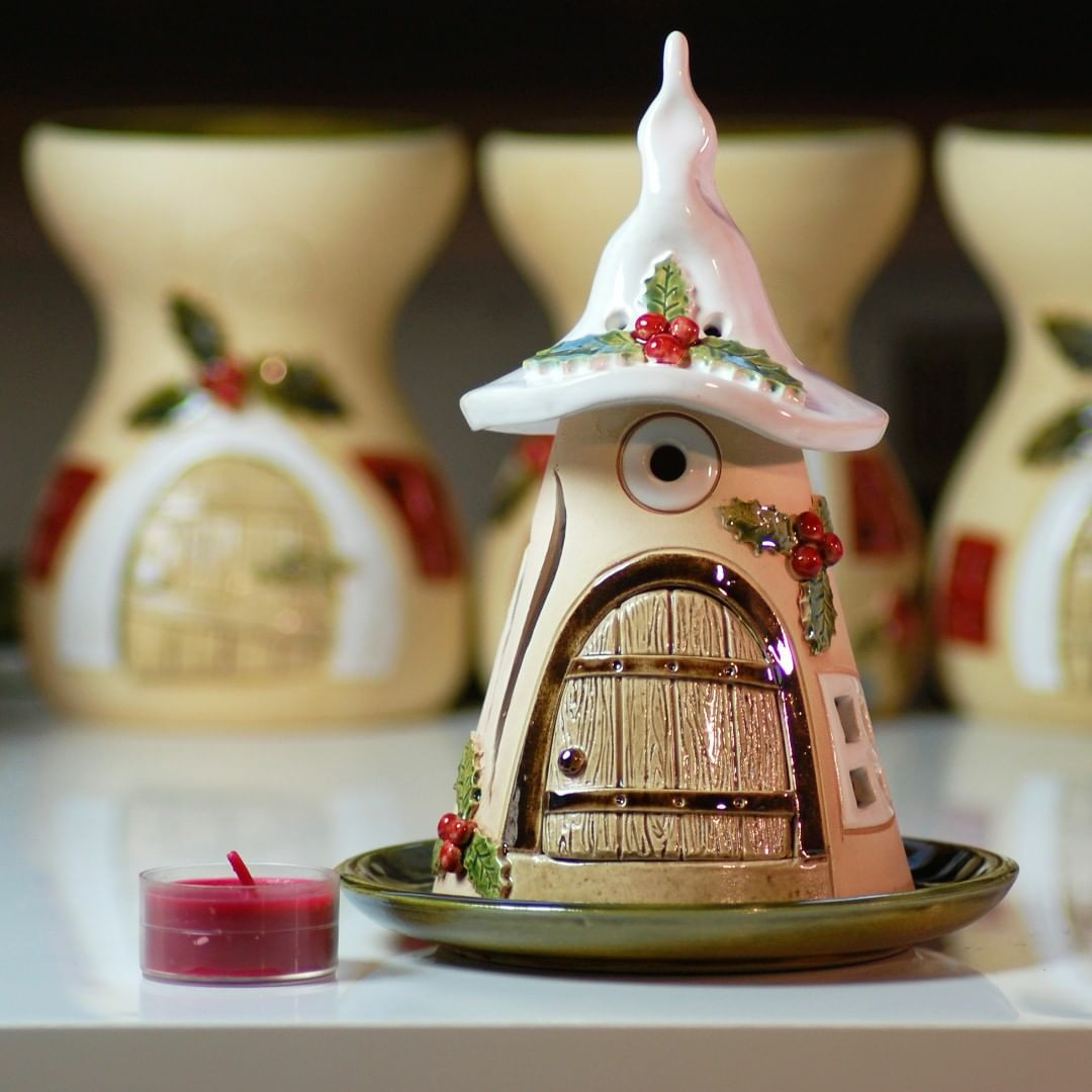 Домики для фей: волшебные керамические подсвечники Antje Rosemann, фото № 12