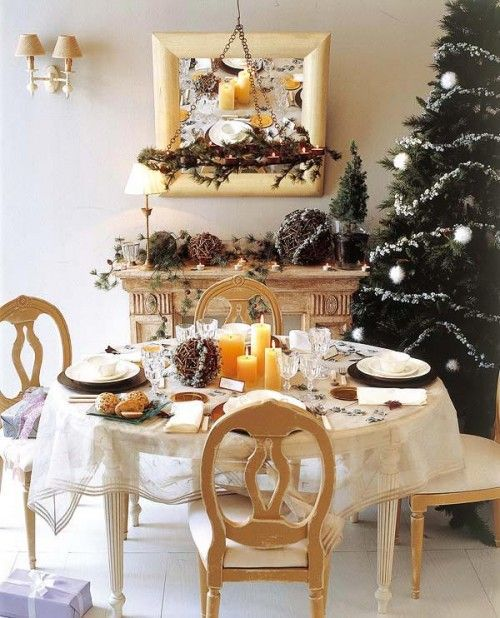 10 Gorgeous Christmas Table Decorating Ideas   Shelterness
