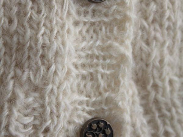 Новая кофта (кардиган, жакет) из козьего пуха | Ярмарка Мастеров - ручная работа, handmade