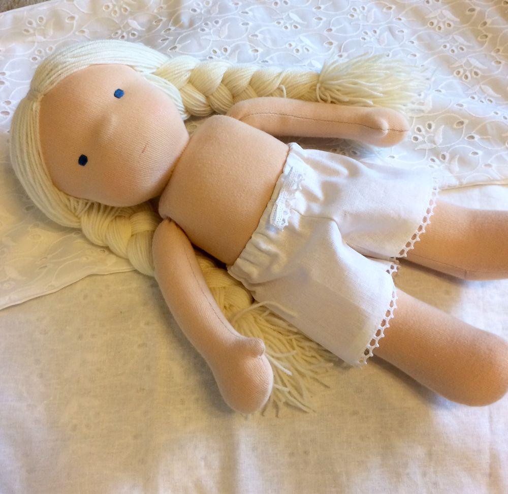 кукла в процессе, вальдорфская кукла, кукла для девочки, кукла на заказ