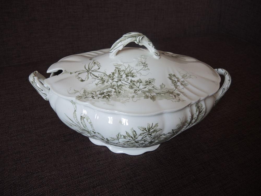 Дополнительные фото антикварной супницы 1900-1910гг Doulton Burslem. Англия, фото № 13