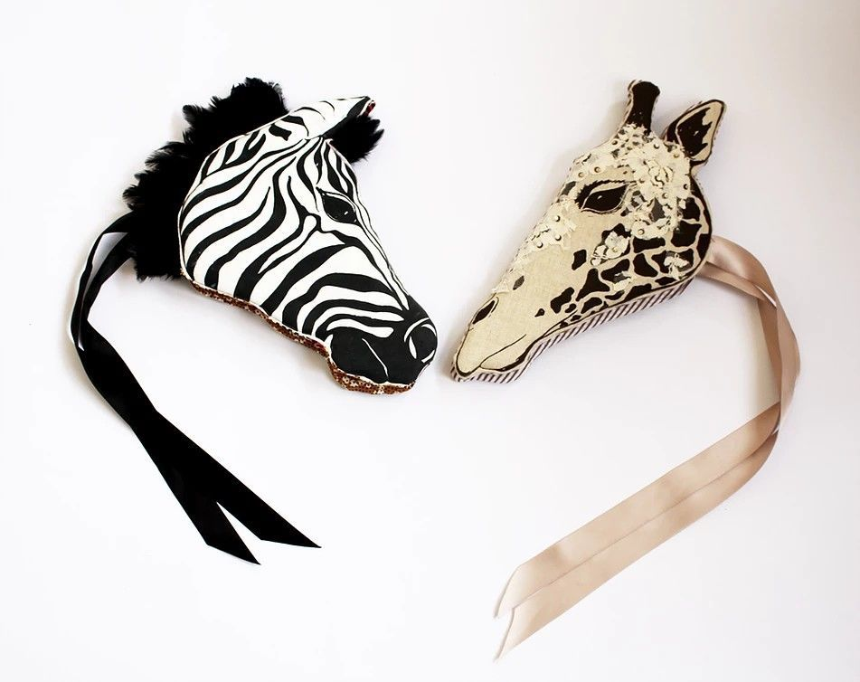 Show Your Wild Side: Luxury Animal Masks by Animalesque, фото № 28