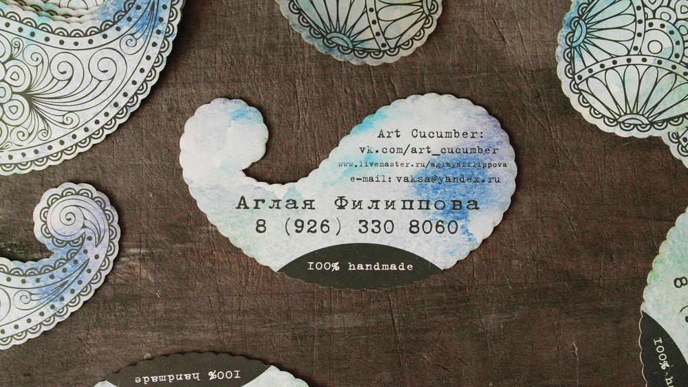 необычные визитки, дизайн