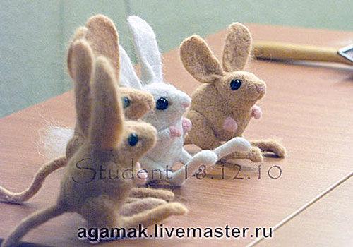 мастер-класс, скульптура, заяц
