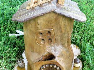 Аукцион на светильник ночник — Домик-3. Ярмарка Мастеров - ручная работа, handmade.