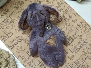 Шьем милого плюшевого слоника. Ярмарка Мастеров - ручная работа, handmade.