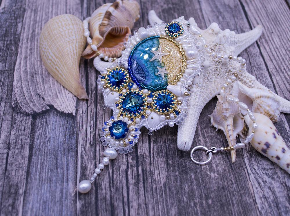 конкурс работ, сваровски, кулон ручной работы, кристаллы swarovski