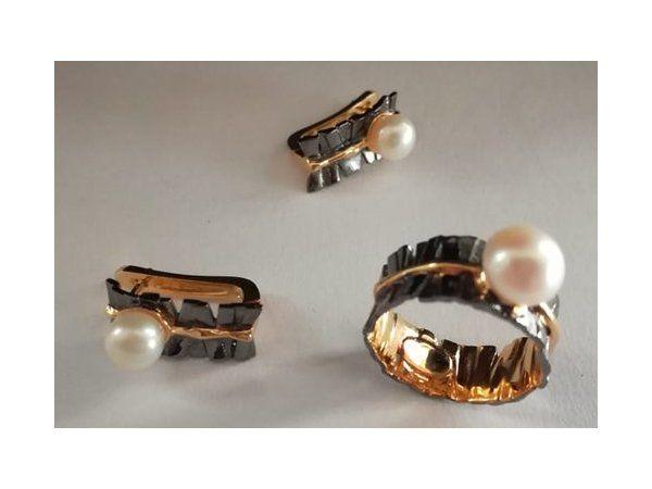 украшения из серебра, серебряные украшения, серебряный браслет, жемчуг барочный, шунгит, бирюза