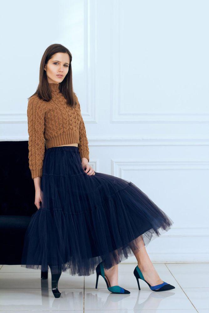 шерстяной свитер, шоколадный