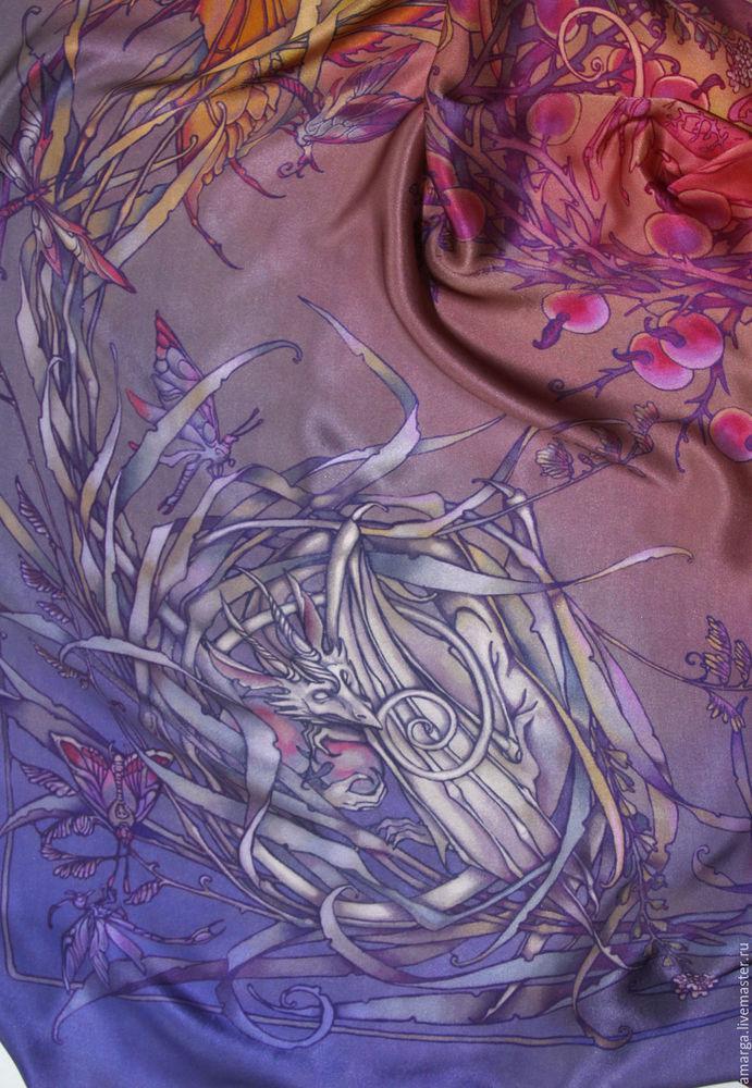 роспись шелка