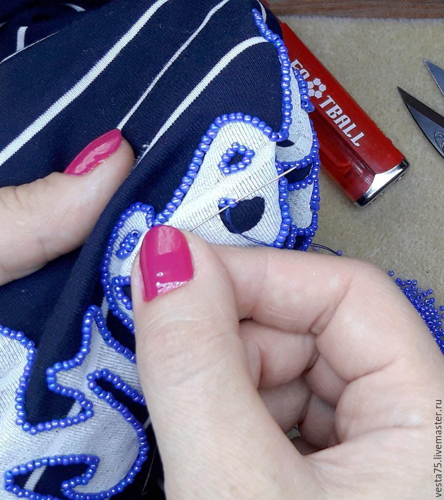 нюансы вышивки бисером