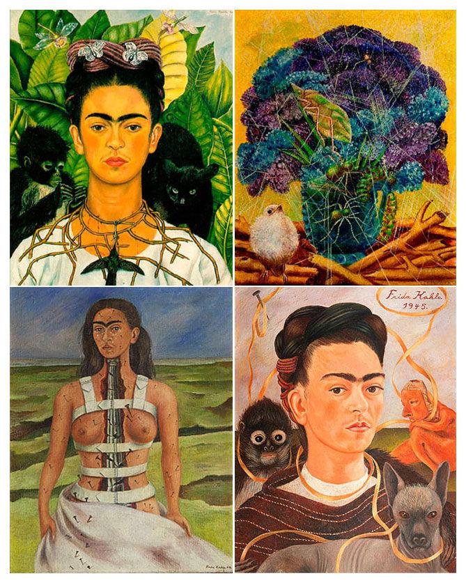 выставка, мексика, искусство, живопись, портреты, модерн