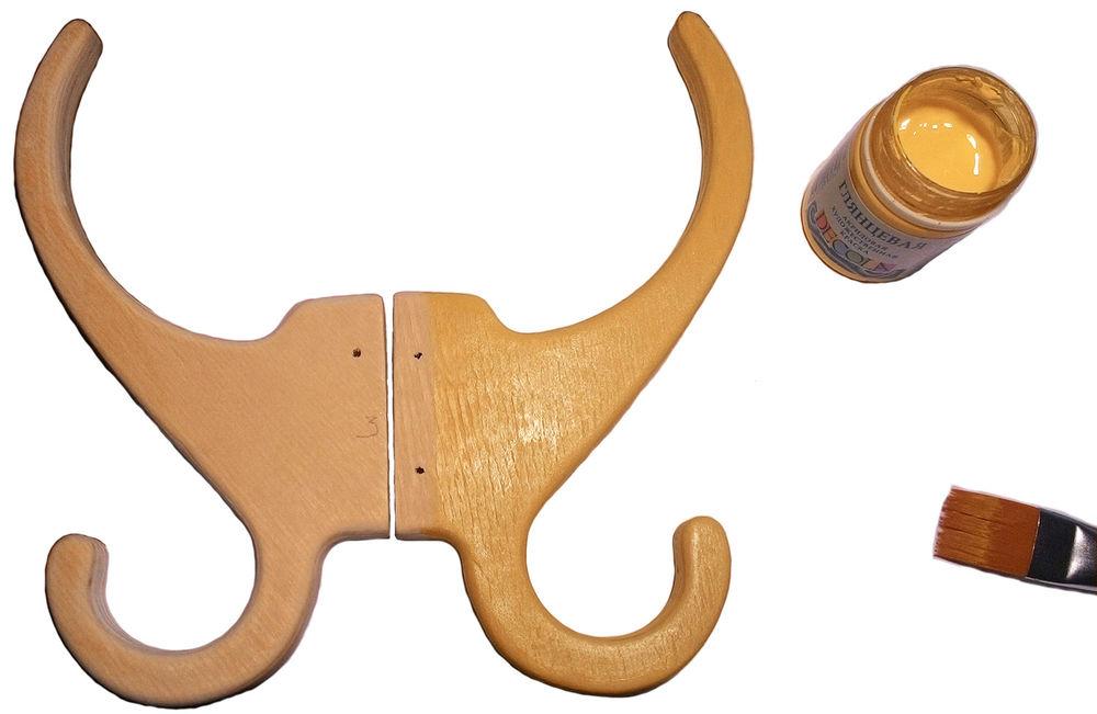 Изготавливаем деревянную вешалку своими руками, фото № 9