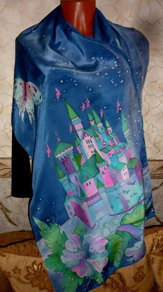 купить подарок, замок, фиолетовый