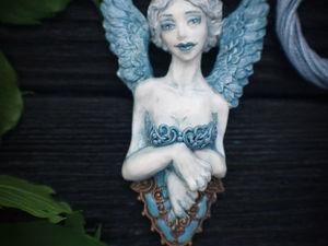 Новинка!!!Улыбка Сфинкса.Кулон из полимерной глины .. Ярмарка Мастеров - ручная работа, handmade.