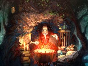 Осторожно!!! Ведьма!!!. Ярмарка Мастеров - ручная работа, handmade.
