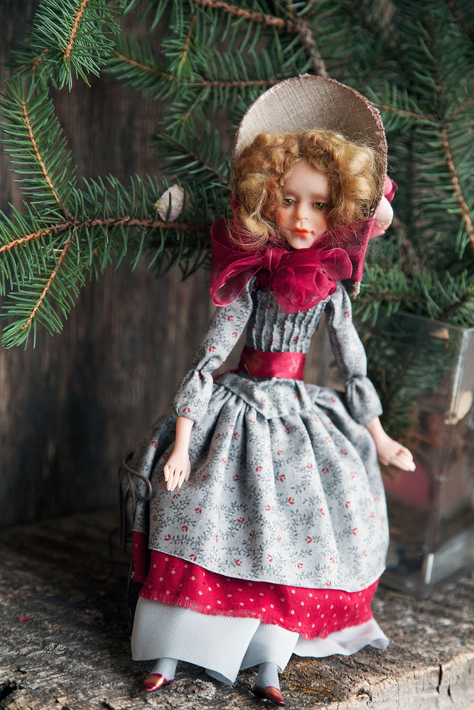 Дополнительные фотографии куклы ручной работы Софии., фото № 10