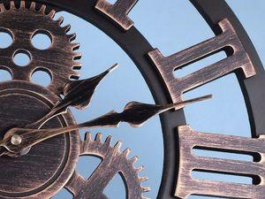 Часы из металла. Ярмарка Мастеров - ручная работа, handmade.