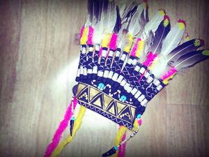 Индейский головной убор. Ярмарка Мастеров - ручная работа, handmade.