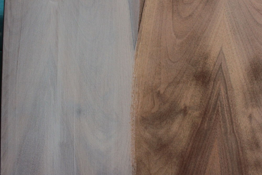 белый стол, перекраска мебели