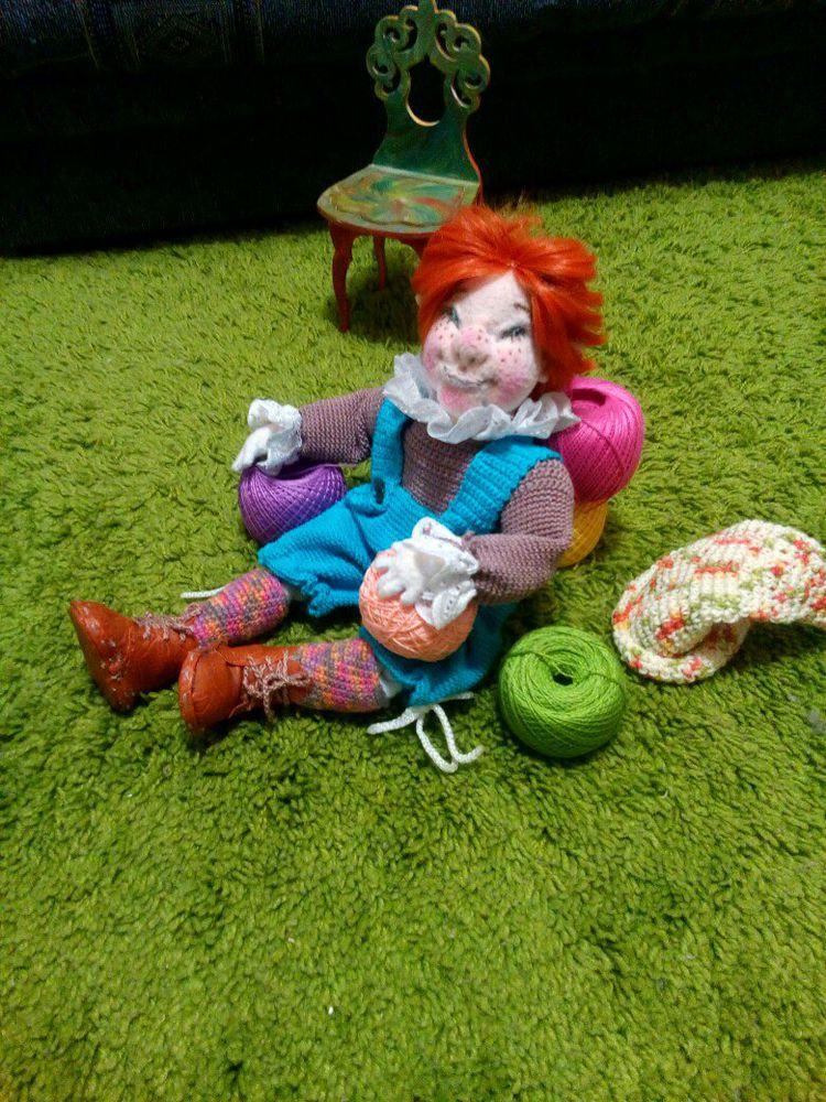 кукла из флиса